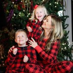 3rd annual family Christmas pajama photo shoot