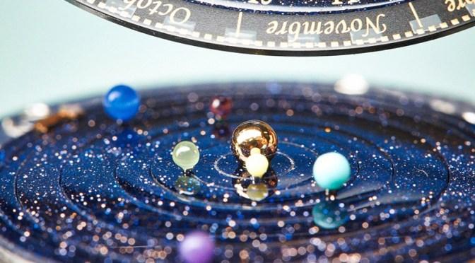 La montre Poétique Midnight Planétarium de Van Cleef & Arpels