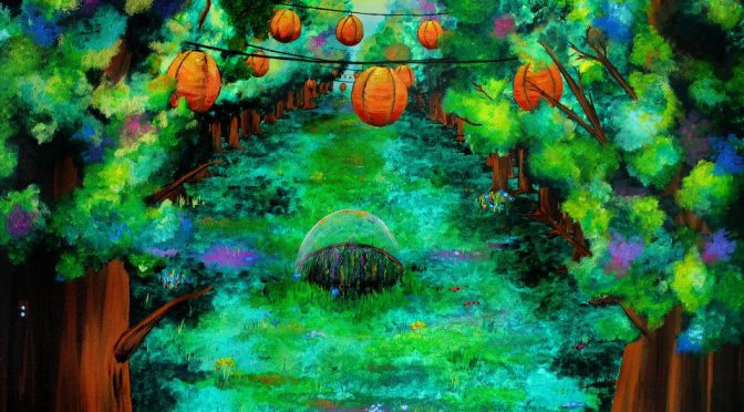 Peintures : Les Landes