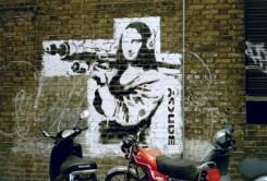Détournement de La Joconde par Banksy - 2001