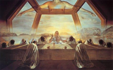 La Dernière Cène (ou Le Sacrement de la dernière cène), Salvador Dali