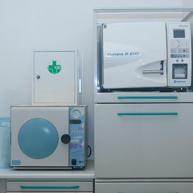 Sala sterilizzazione..