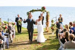 Sara & Dan's Up North Wedding