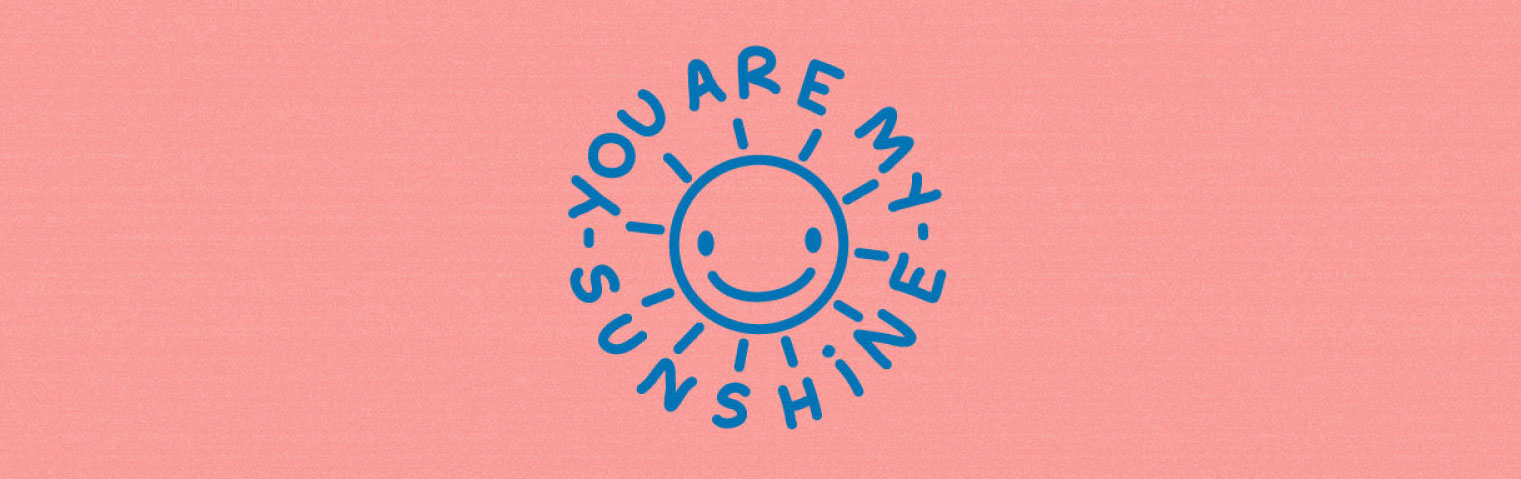 Stamp - You are my sunshine - Studio Limón
