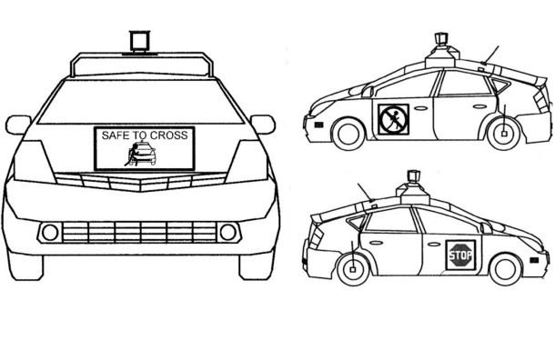 La Google Car parlera aux piétons