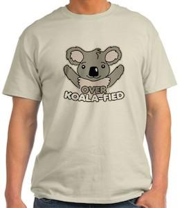 Koala bear t-shirt