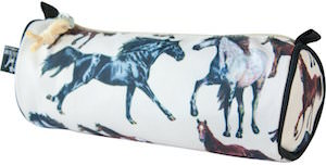 Pencil Case With Horses