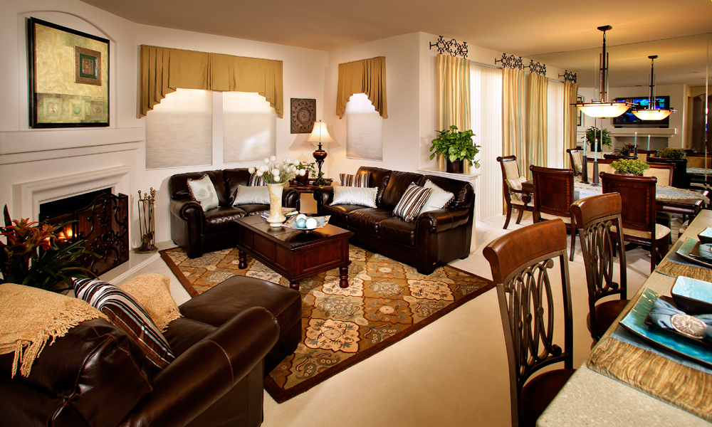 Family Room - Classic Style