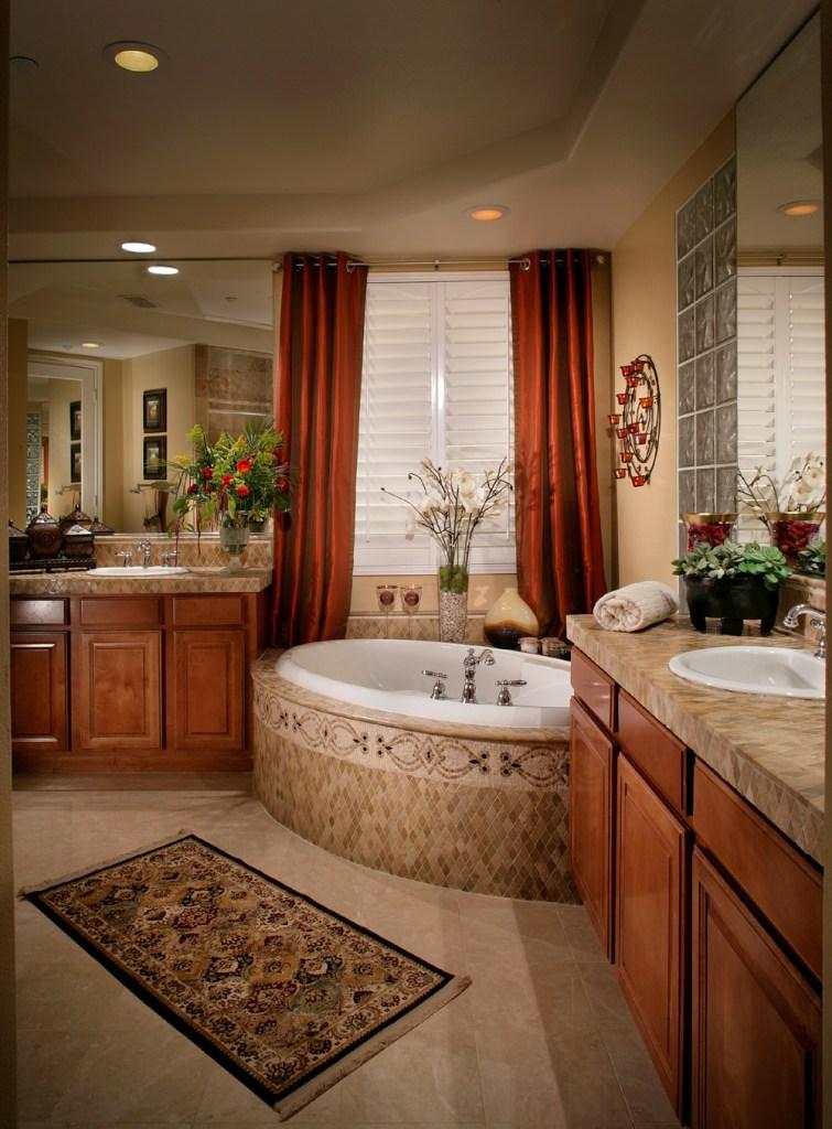 Bathroom - Mediterranean, Old World, Tuscany Style