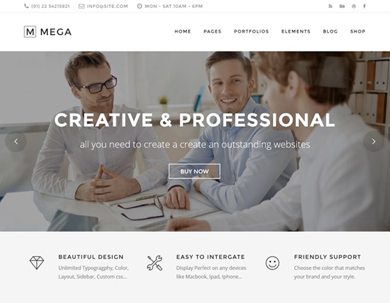 Mega New Multi-Purpose WP Theme
