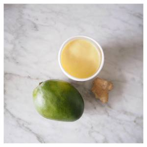 Found the recipe for this mango amp coconut smoothie onhellip