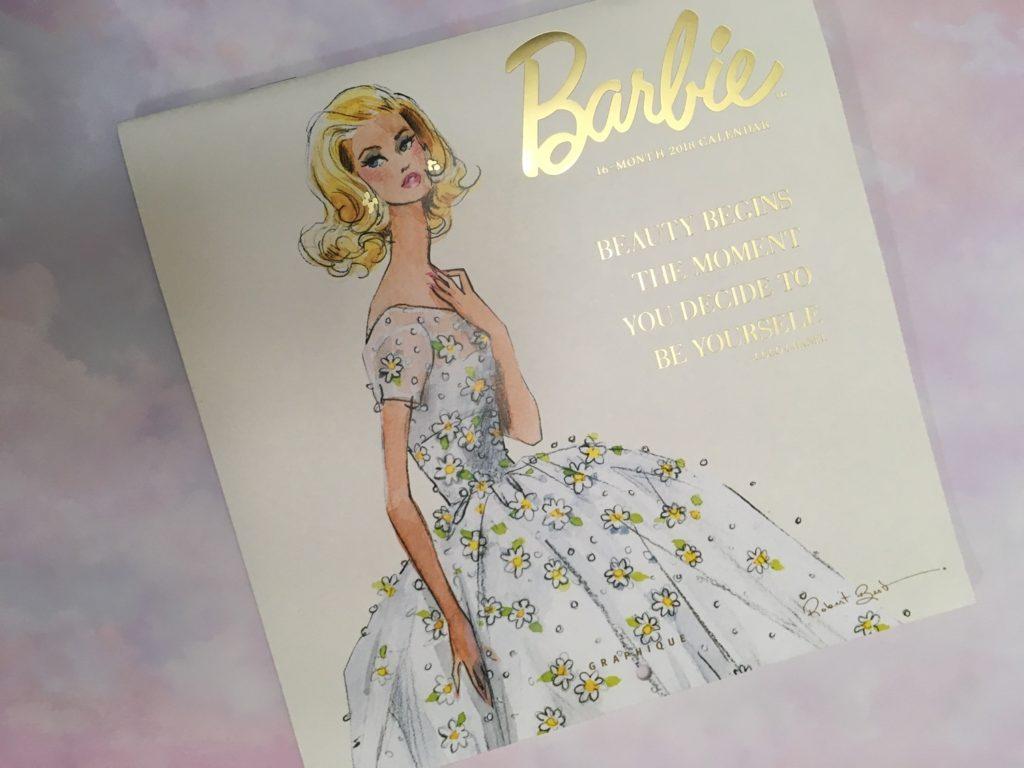美をつくる格言ーBarbie Calendar select