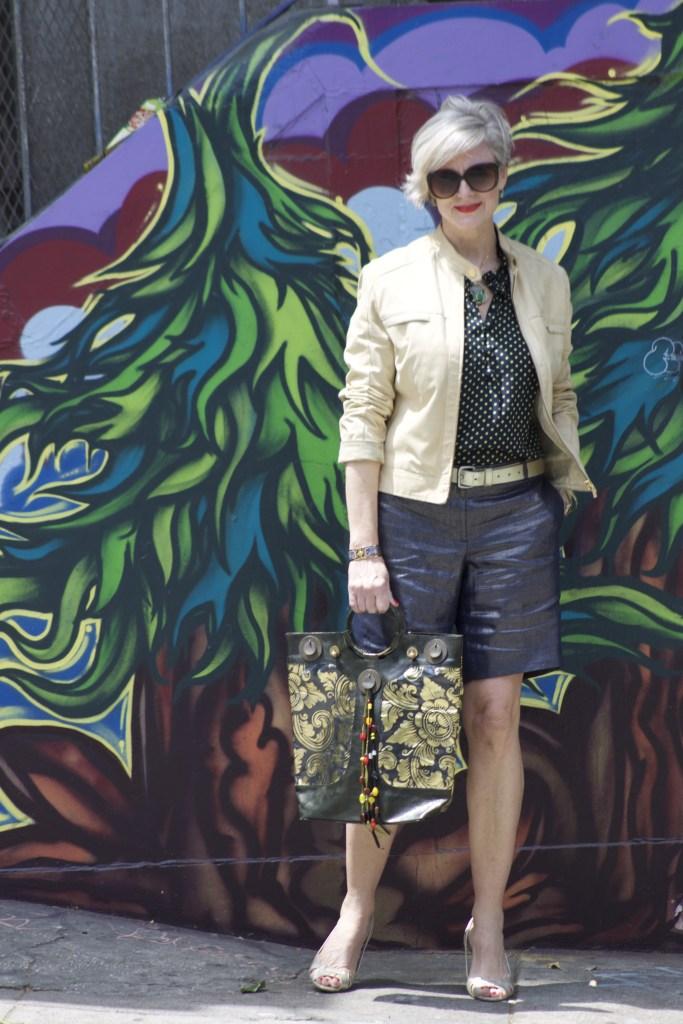 metallics and murals