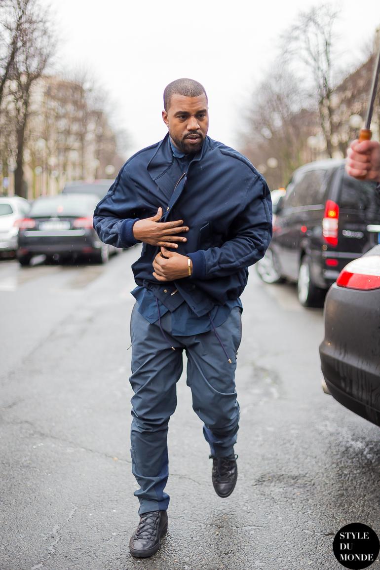 Paris Fashion Week Fw 2014 Street Style Kanye West Style Du Monde Street Style Street