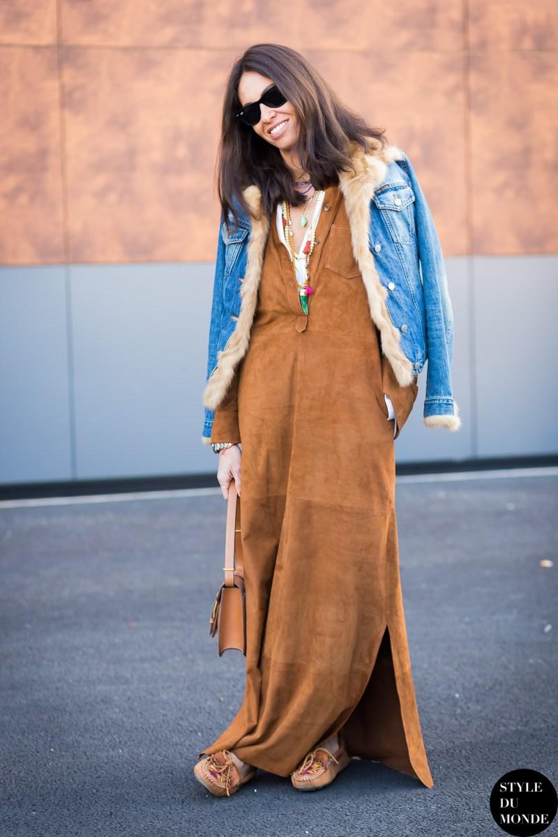 Paris Fashion Week Fw 2015 Street Style Viviana