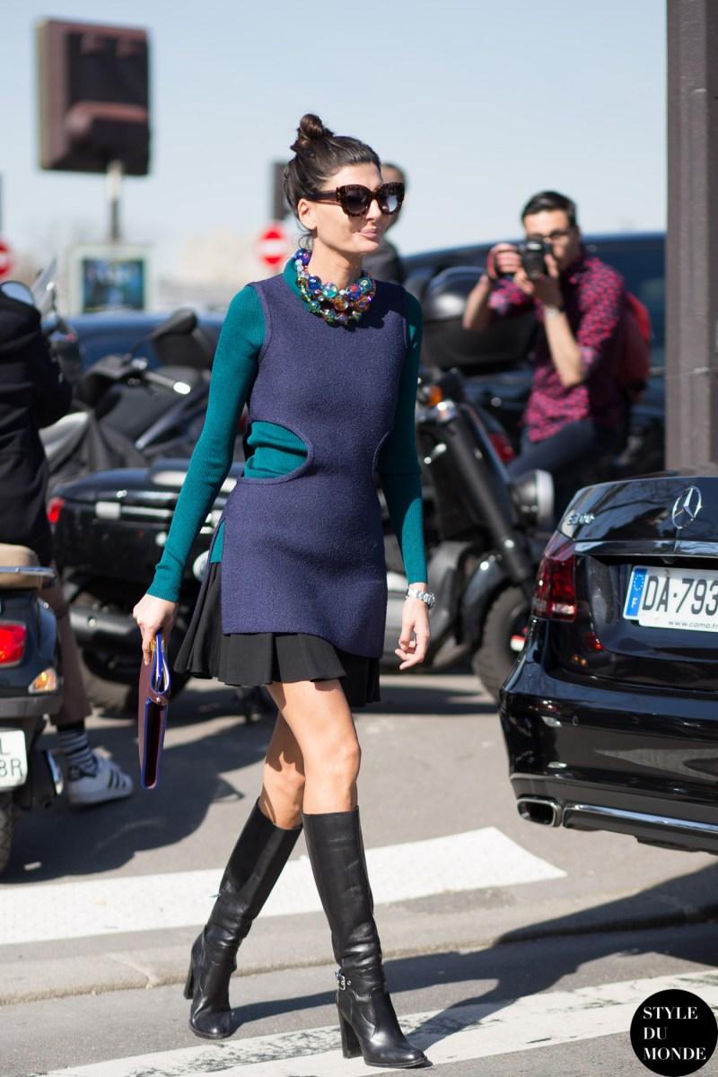 Paris Fashion Week Fw 2015 Street Style Giovanna Battaglia Style Du Monde Street Style