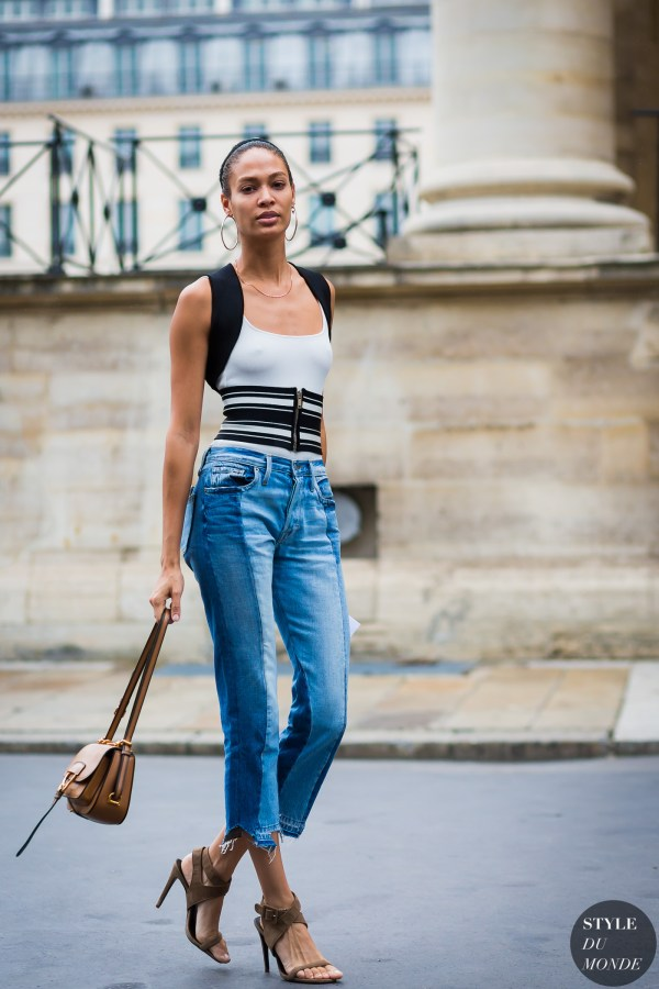 Haute Couture Fall 2016 Street Style: Joan Smalls