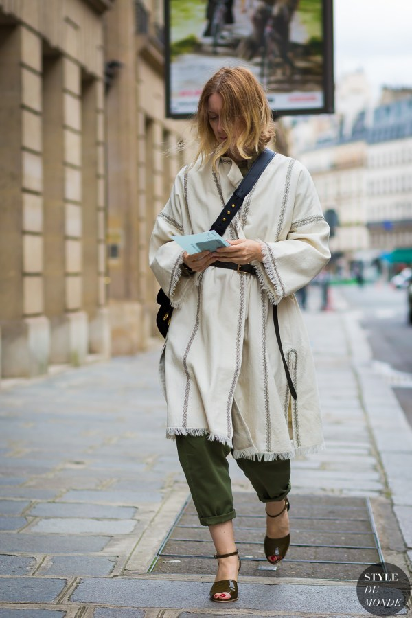 Haute Couture Fall 2016 Street Style: Suzanne Koller