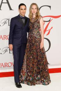 cfda 2015 Zac Posen and Maya Hawke-Thurman