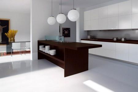 simple contemporary kitchen interior design one