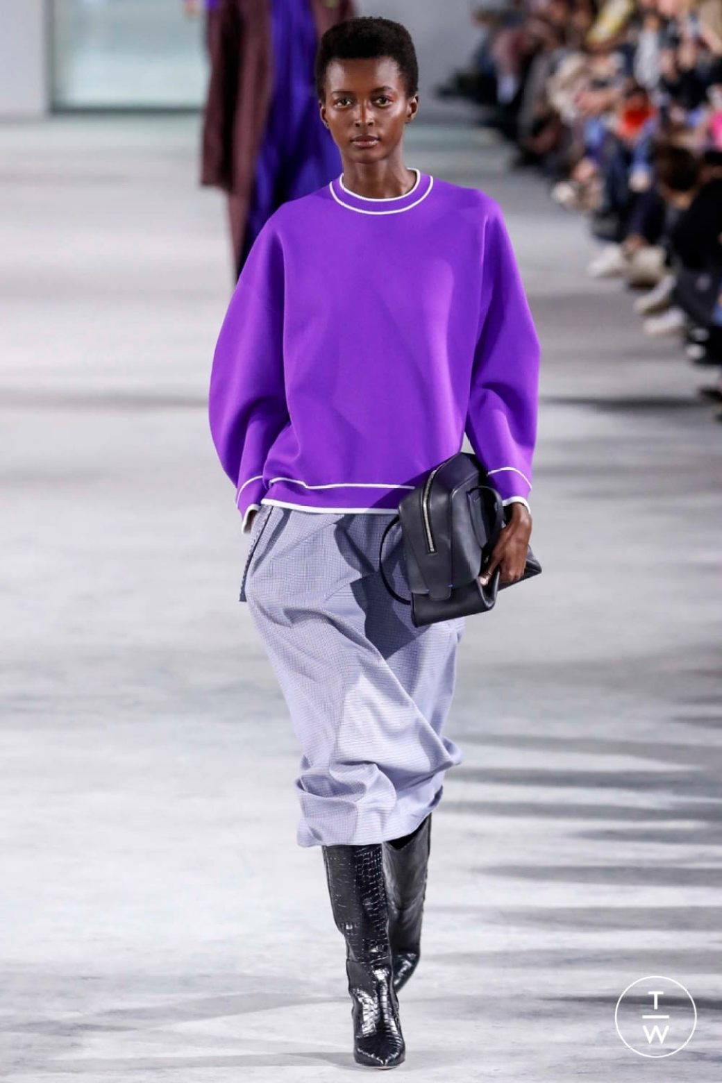 tibi aw18 ultraviolet purple pantone color of the year