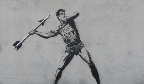 Banksy2 - olympics - www.styleisnecessity.com