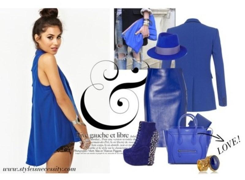 Cobalt Blue - Autumn winter 2012 trend