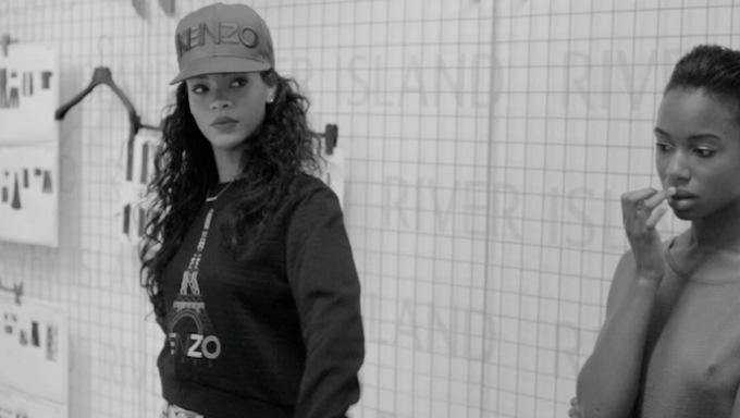 Rihanna for River Island – London fashion week