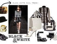 Black & White – Key trend Spring summer 2013!