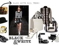 Black & White – Key trend Spring summer 2013!