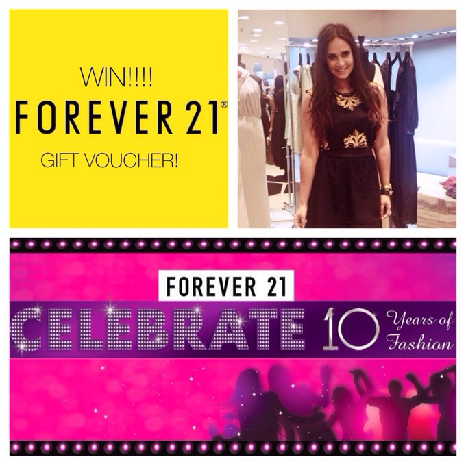 GIVE AWAY! // HAPPY BIRTHDAY FOREVER 21!!