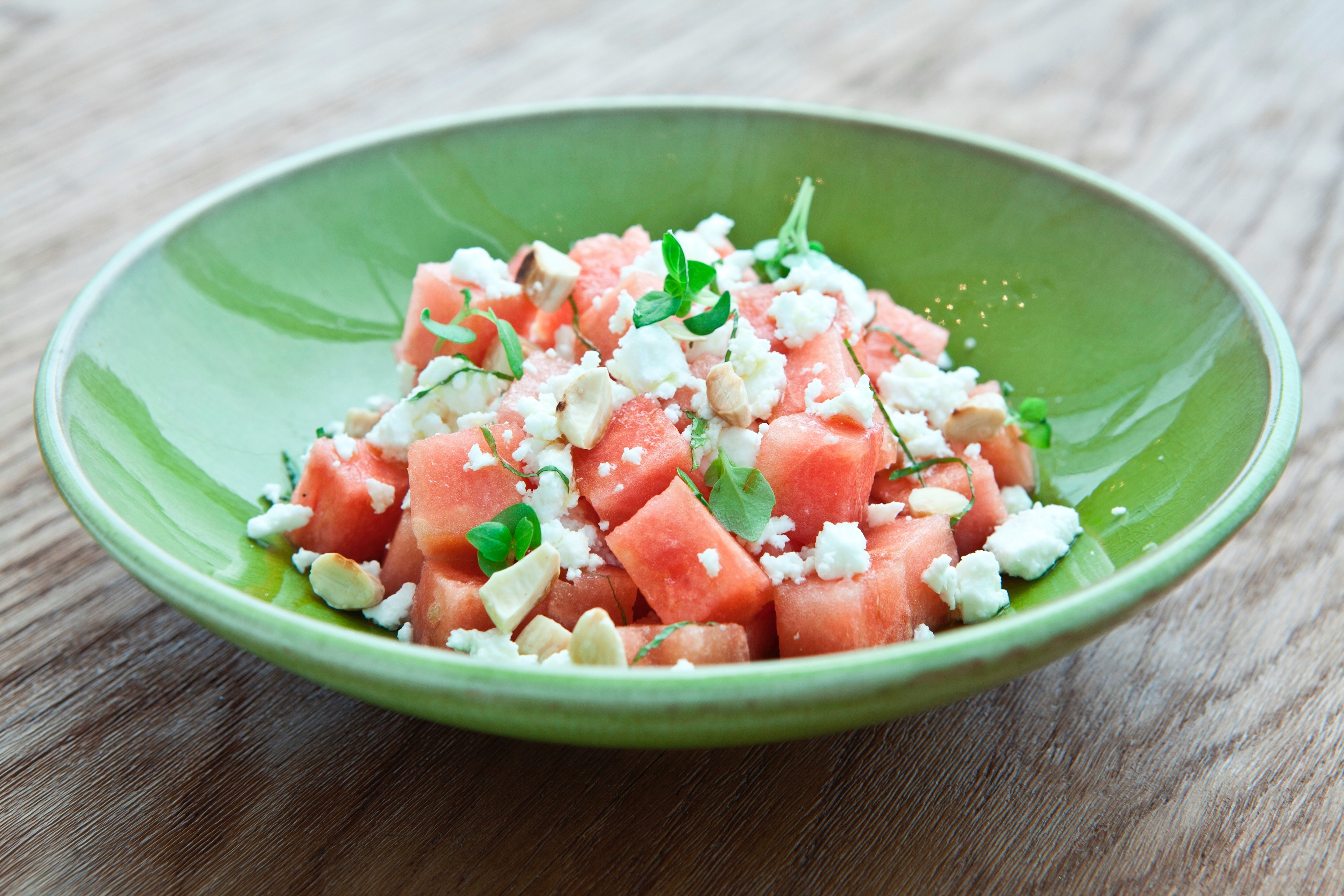 La Serre Watermelon and feta salad