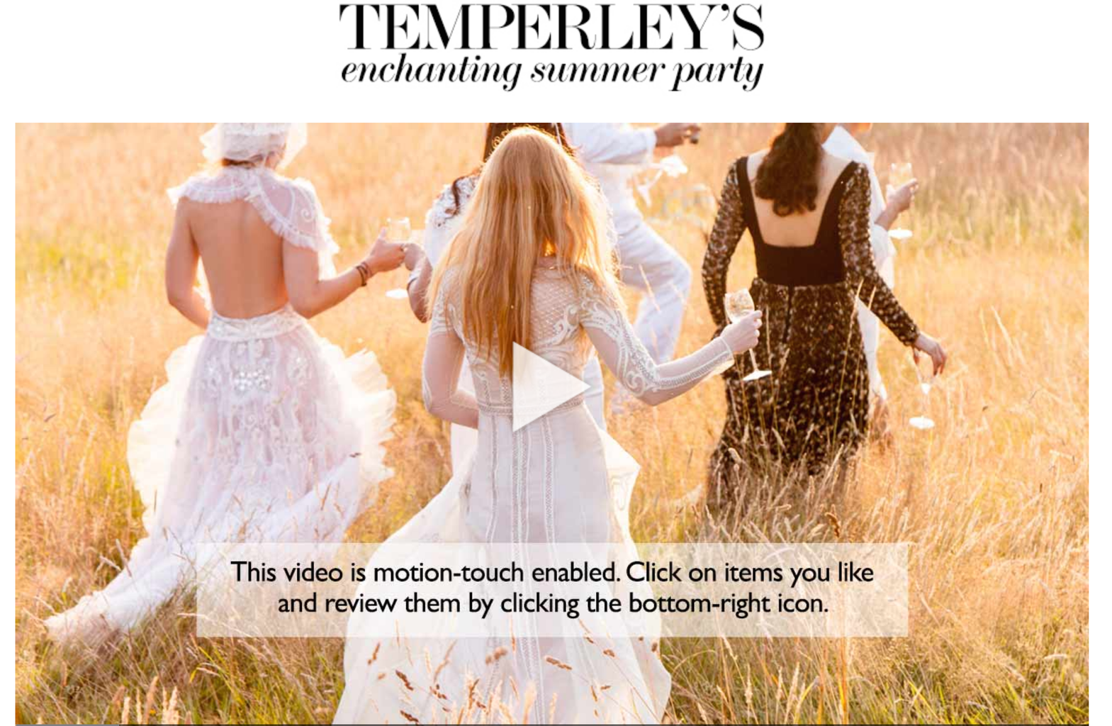 Temperley London and Net-A-Porter Collaborated on a Bridal Capsule