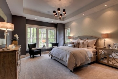gallery for > romantic master bedroom decorating ideas