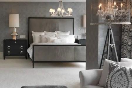 20 beautiful gray master bedroom design ideas 19 620x621