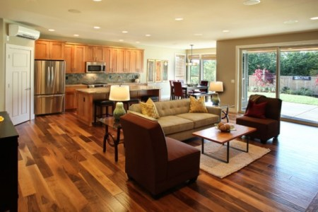 open concept kitchen living room design ideas 2 620x410