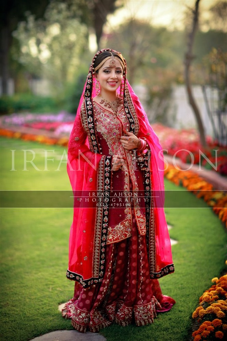best bridal barat dresses designs collection red wedding dresses Bridal Barat Wedding Dresses Trends Collection 2