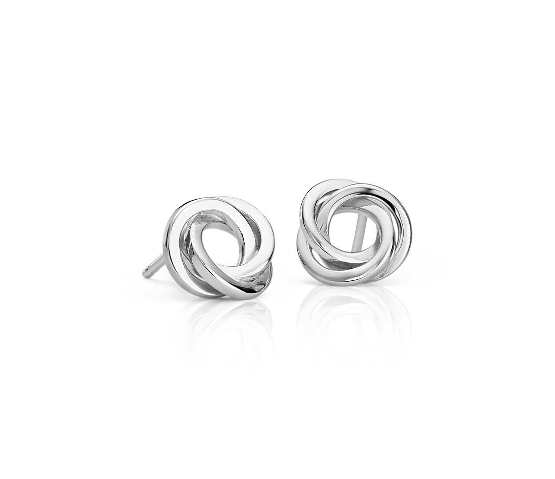 Manly Guys Silver Stud Earrings Flat Love Knot Stud Earrings Silver Eesprbv Silver Stud Earrings What Makes It So Silver Stud Earrings Ebay Silver Stud Earrings wedding rings Silver Stud Earrings