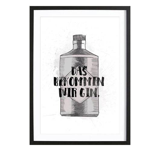 "Illustration ""Gin"" von Maren Kruth"