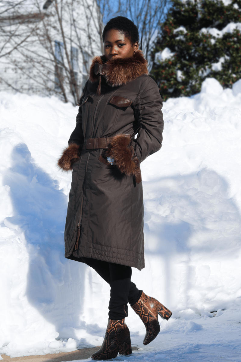 HOW TO BE STYLISH DURING A BLIZZARD