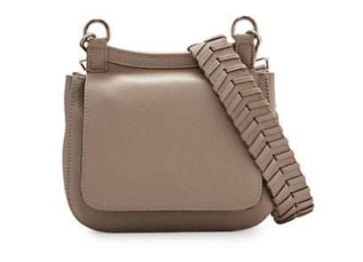 Channing Small Leather Messenger Bag
