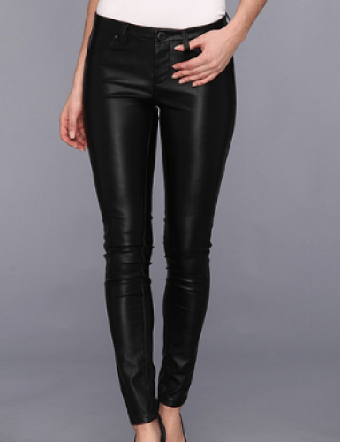 lank NYC The Spray On Vegan Leather Skinny Jegging
