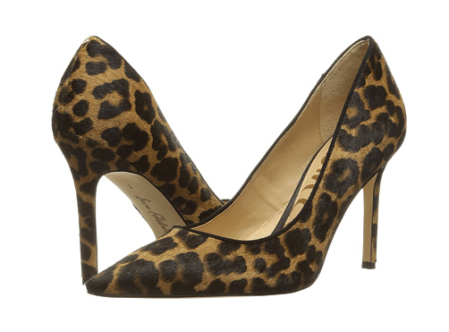 Sam Edelman Animal Leopard Print Pump Sahara