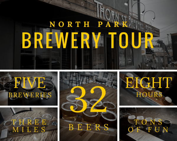 North Park Brewery Tour on Foot
