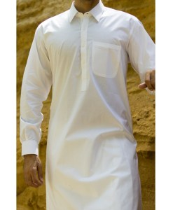 Shalwar Kameez Off-White Wash n Wear Shirt Collar