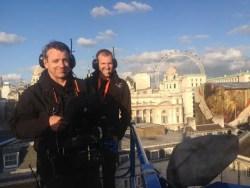 Jeremy Braben_Pete Ayriss_HFS_on set of Spectre