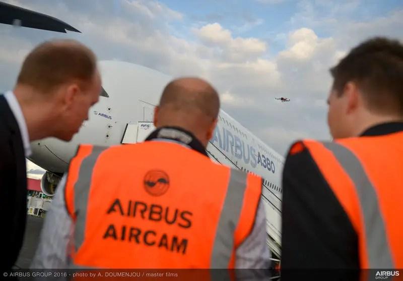 空客展示了无人机检查客机技术资讯看灰机网 第2张