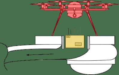 亚马逊获得无人机充电中转站专利 第4张