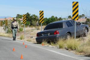 Unmanned Experts and Las Vegas Metropolitan Police Department  demonstrate accident analysis