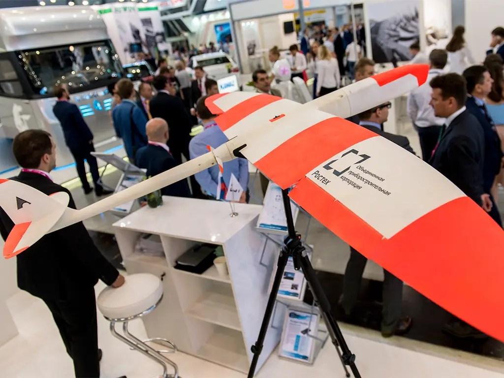 俄罗斯的首个3D打印无人机亮相资讯看灰机网 第1张